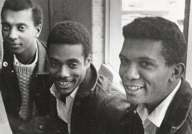 Stokely Carmichael, Charles Cobb Jr., and George Greene